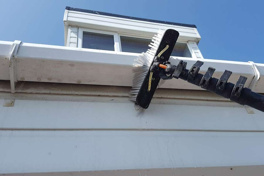 Cleaning Fascias & Soffits Wirral