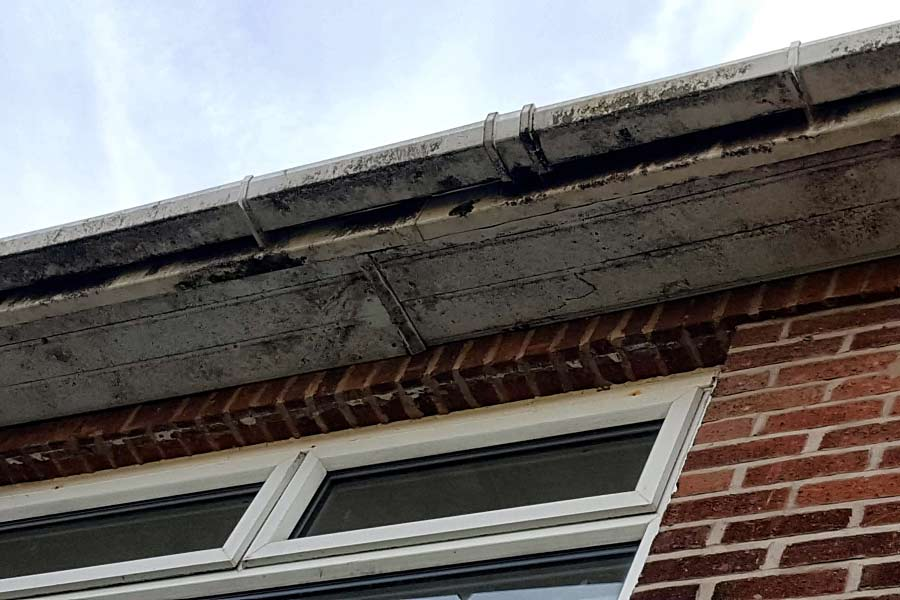 Dirty Soffits & Fascias Cleaning Wirral